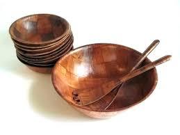 wooden salad bowl set best wooden lad bowls bowl set vintage woven large by wood with wooden salad bowl set