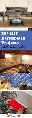 Kitchen Backsplash Diy 25 Best Diy Kitchen Backsplash Ideas And Designs For 2017