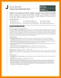 Public Relations Resume Objective Paknts Com