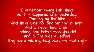 Paradise In The Dashboard Light Glee Glee Paradise By The Dashboard Light Lyrics