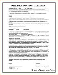 Contract Template Microsoft Word Service Contract Template Microsoft Word Free Download 18
