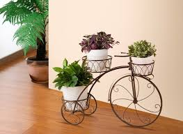 bicycle flower stand/shelf, the ground / balcony flower, outdoor / many pot  flower, flower pots planters-in Flower Pots & Planters from Home & Garden  on ...