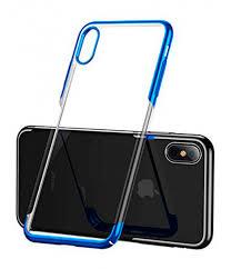 Купить <b>чехол Baseus для</b> iPhone XS, Glitter Case, Blue в ...