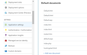 Adding additional html pages beyond index in azure web app. - Stack ...