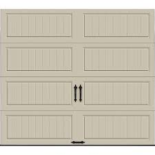 Clopay Gallery Collection 8 ft. x 7 ft. 6.5 R-Value Insulated ...