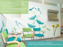 Colori Per Dipingere Le Pareti Del Bagno : Decorare ospedali scuole e ambulatori pediatrici h art