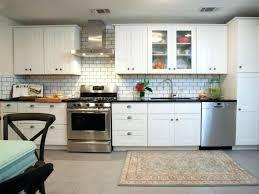 large glass tile backsplash ideas size of small kitchen grey and blue tiles bl