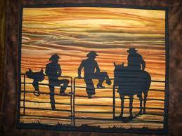 137 best Quilt Ideas Western images on Pinterest | Baby boy ... & COWBOY Quilt KIT with Precut Fabric Die Cut Applique by csdblc, $45.00 Adamdwight.com