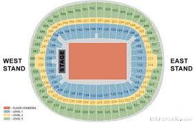 Nissan Stadium Seating Chart With Rows Wembley Stadium Seating Plan Detailed Seat Numbers