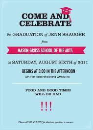 graduation party invite com graduation party invite how to make your own graduation invitations using word 12
