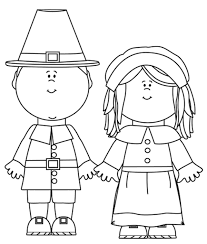 thanksgiving pilgrim girl coloring pages. Fine Girl Pilgrim Girl Coloring Pages Printable Thanksgiving Pilgrim  Girl Coloring And Thanksgiving Pages