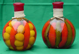 Decorative Vegetable Jars decorative infused oil with vegetable bottles bottles 15