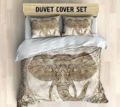 elephant bedding mandala elephant duvet cover set bohemian bedding set bohochic in bedspread boho duvet covers