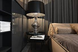 Luxury Bedroom Accessories Three Luxurious Apartments With Dark Modern Interiors