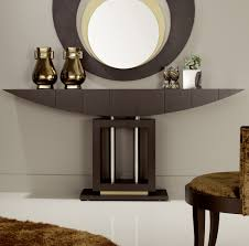 Image of: Modern Foyer Table Mrors