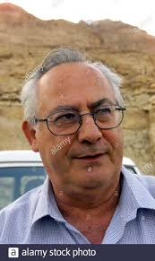Avi Shapira, director of Israel's Geophysical Institute seismology  division, speaks to Reuters about an impending Dead Sea explosion under the  cliffs which overlook the lowest point on earth November 11. Shapira's  institute