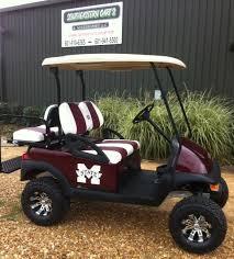 mississippi state custom golf cart
