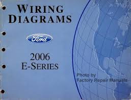 2006 ford econoline van wagon e150 e250 e350 e450 electrical wiring diagrams ford 2006 e series