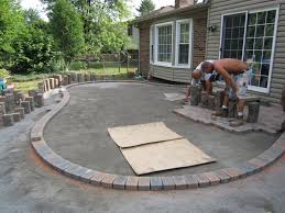 concrete patio installation cost calculator designs cost to install paver patio a74