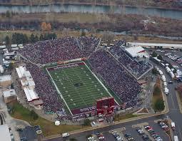 Map Washington Grizzly Stadium The University Of Montana