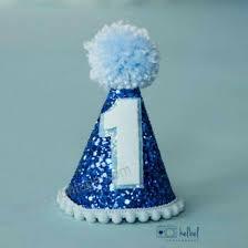 Ready To Ship Mini Glittery Boy Birthday Party Hat Birthday Cake