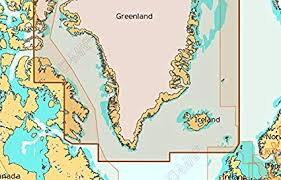 Cmap Chart 4d Max Plus Wide Greenland Iceland Microsd Card
