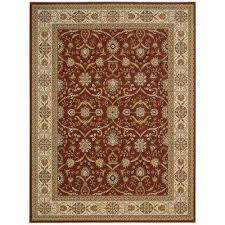 persian crown malti rose 9 ft x 13 ft area rug