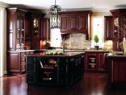 cherry kitchen cabinets black granite. Cherry Wood Kitchen Cabinet Marvellous Inspiration Cabinets Black Granite Attractive .