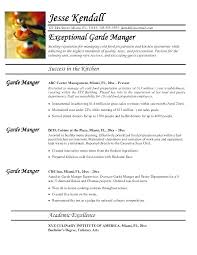 Best Solutions Of Pastry Chef Resume Template Brilliant Line Cook