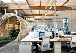 cool office space ideas. Modren Cool Contemporary Office Space Blends Creativity Indoor Home  Ideas And Cool Office Space Ideas F