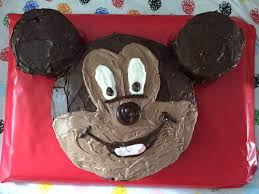 as i mentioned in yesterday s mickey mouse party post i made my son s birthday cake for his 2nd birthday he loves mickey so i knew that he would love to