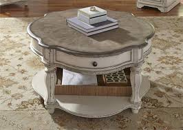 magnolia manor entertainment center in antique white finish by liberty furniture 244 ent