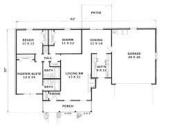 stunning l shaped ranch floor plans 24 two bedroom house unique 100 plan style 4bedroom 4