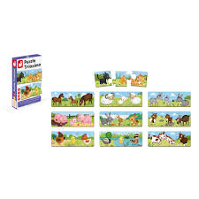 Trionimo 30-Piece <b>Puzzle Matching</b> Game