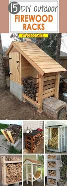 In my home, we use a lot of firewood. During the cold winter months