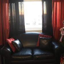 Black living room curtains Cotton Black Living Room Curtains Enchanting Black And Red Curtains For Living Room Decor With Top Proyectoprometeoclub Black Living Room Curtains Proyectoprometeoclub