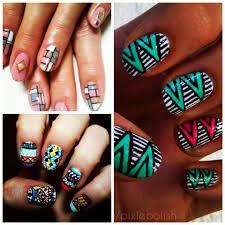 African #nail #art | ...African inspired nail art! | Pinterest ...