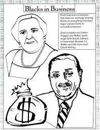 Small Picture Black History Month Coloring Pages Corresponsablesco