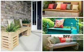 just home the best of garden bench ideas 20 diy that are out ordinary from