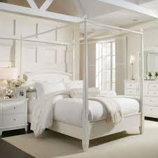 White Full Size Canopy Bed Frame | Home sweet home! | Pinterest ...