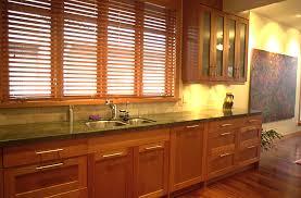 Natural Cherry Shaker Kitchen Cabinets 9732 kibinokuniinfo