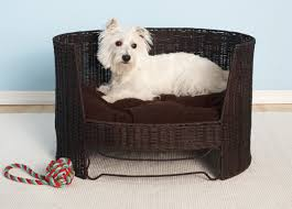 Dog bed furniture Small Dog Wicker Dog Day Bed The Spruce Pets Dog Furniture And Dog Beds From The Refined Canine Luxury Maker Of