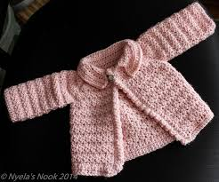 Crochet Baby Sweater Pattern Mesmerizing Crochet Patterns Galore Cute Baby Cardigan