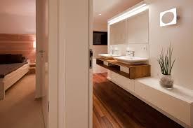 Holzboden Im Badezimmer Bad Ensuite Tischlerei Schöpker