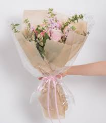 How To Wrap Flower Bouquet In Paper Hot Item Sydney Korean Style Flower Rose Bouquet Wrapping Packaging Roll Paper