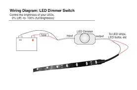 wiring diagram for led dimmer the wiring diagram led brake running light controller diagram wiring diagram