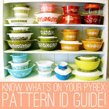 Rare Pyrex Patterns Stunning Oh So Lovely Vintage Pyrex Pattern Identification Guide Part 48