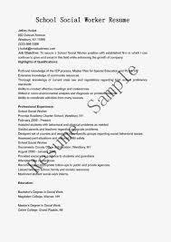 Gallery Of Social Worker Resume Examples