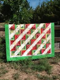 Tanya Quilts in CO: Scrappy Watermelon Picnic Quilt & I started this quilt last summer and it was on my list of 10 Things This  Summer. I finished binding it last night. It is about a third bigger than  these ... Adamdwight.com