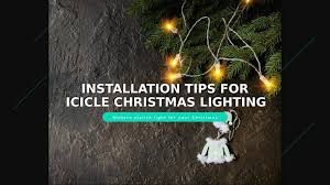 How To Straighten Icicle Lights Energy Efficient Best Icicle Lights For Christmas Lighting